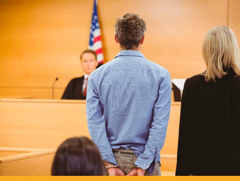 defendant-in-courtroom