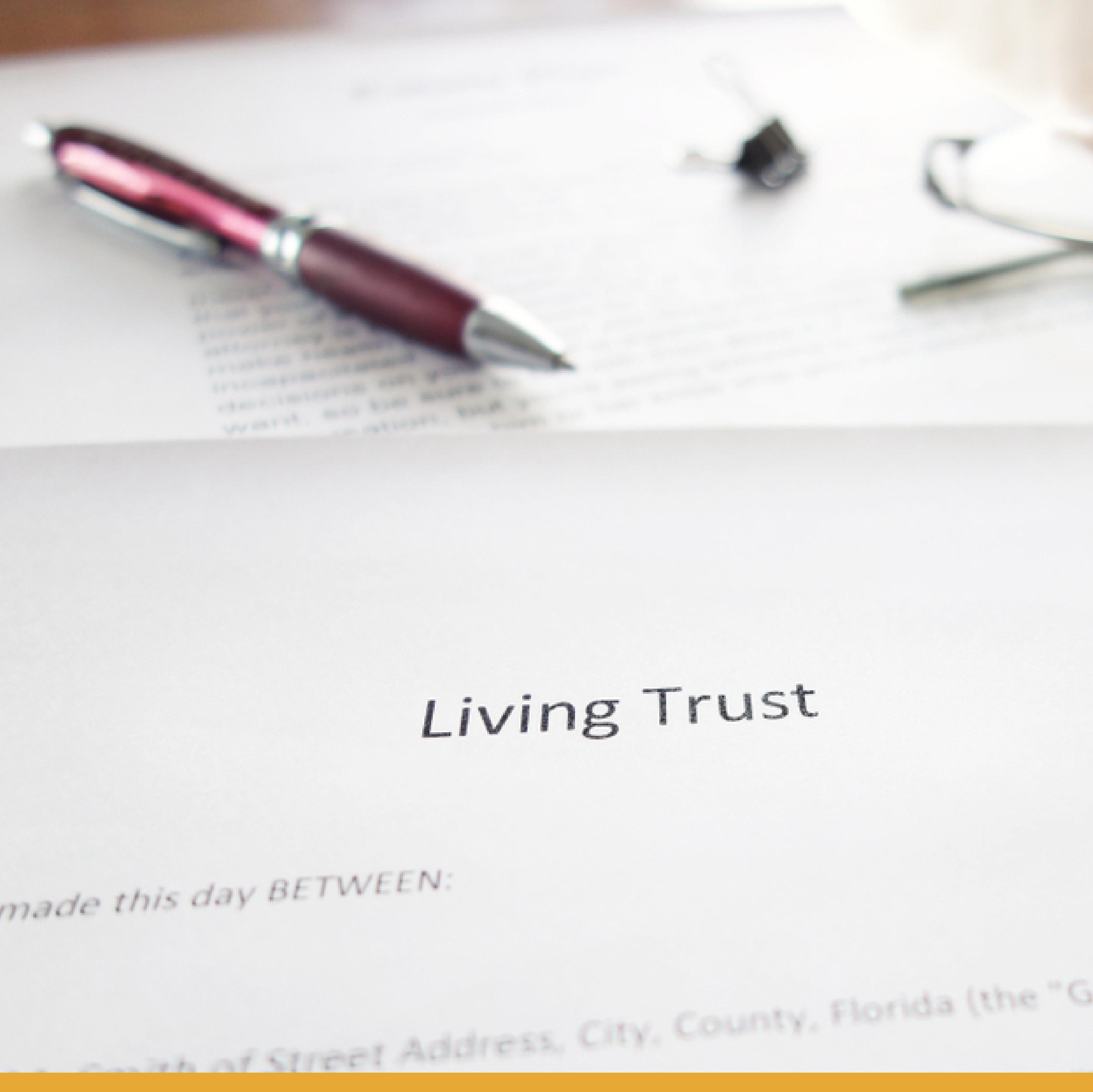 signing-living-trust