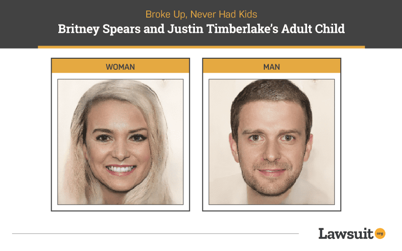 Britney Spears and Justin Timberlake Child