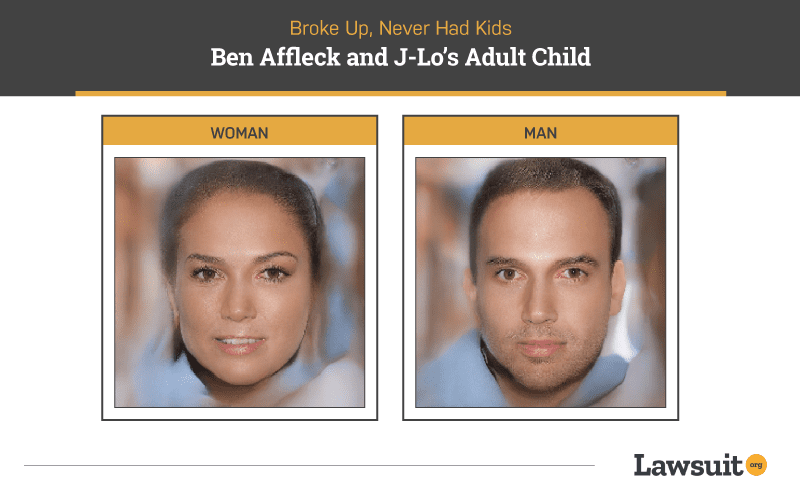 Ben Affleck and Jlo Child