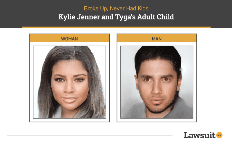 Kylie Jenner and Tyga Child