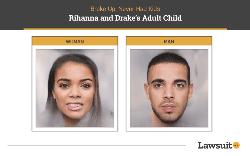 Rihanna and Drake Child