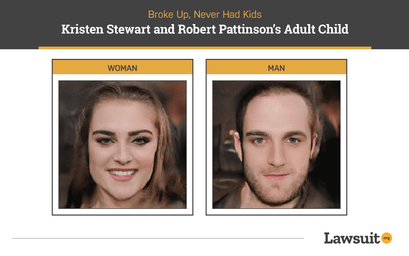 Kristen Stewart and Robert Pattinson Child