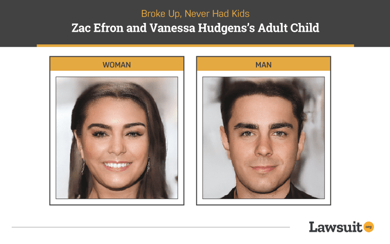 Zac Efron and Vanessa Hudgens Child
