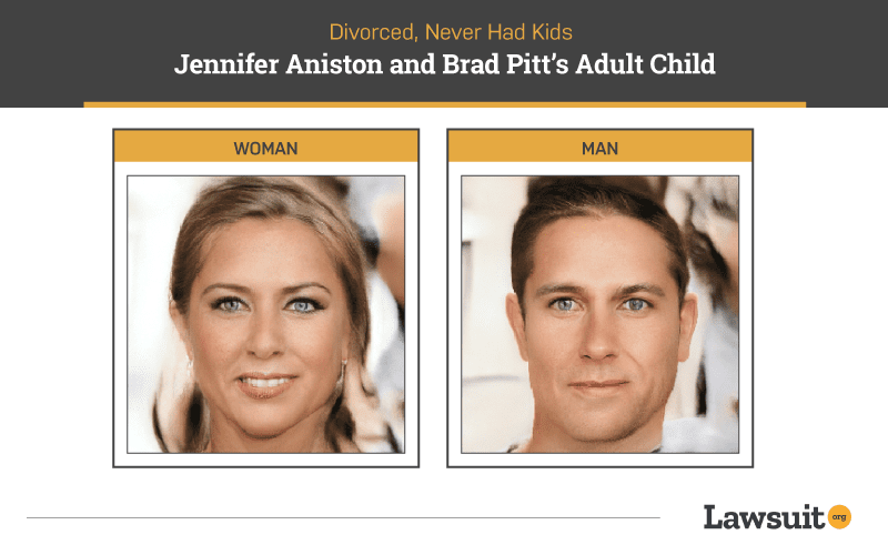 Brad Pitt and Jennifer Anniston Kids