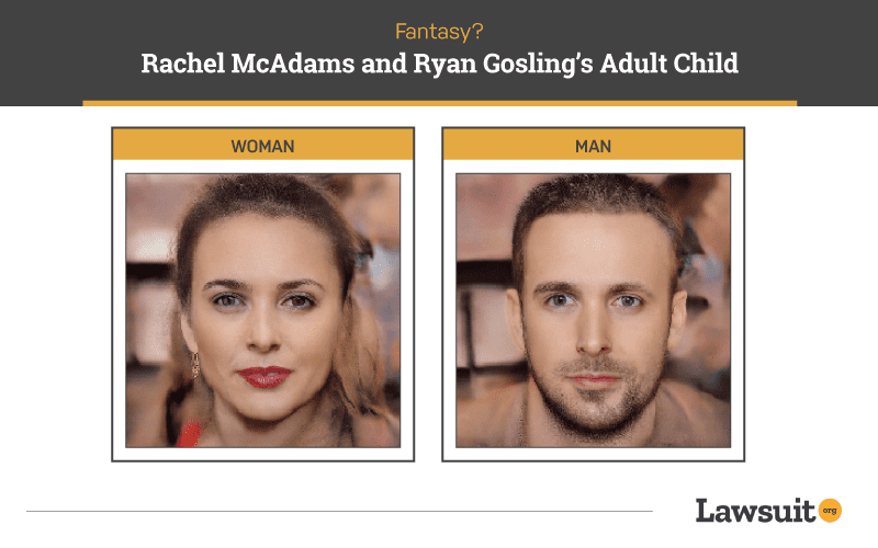 The Notebooks Rachel McAdams and Ryan Gosling Child