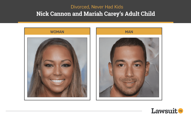 Nick Cannon and Mariah Carey Child