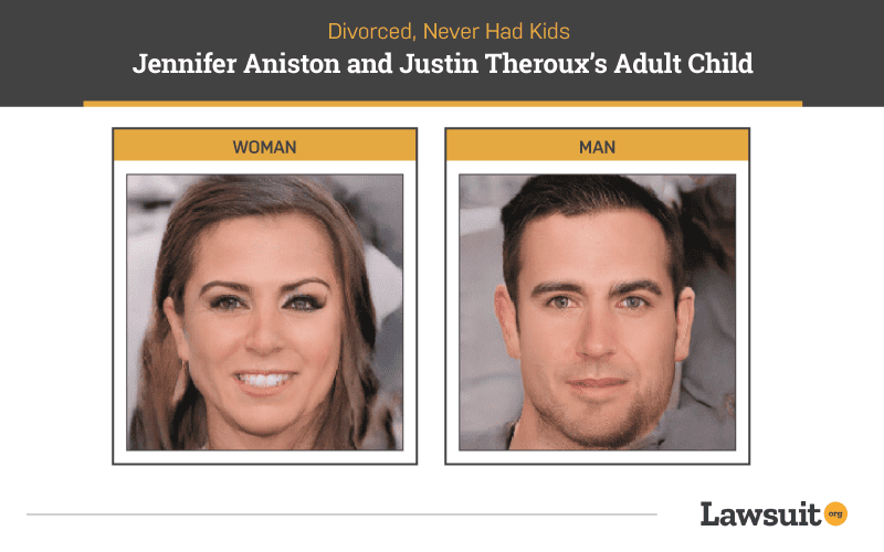Jennifer Anniston and Justin Theroux Child