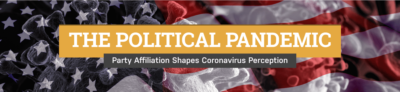 The political pandemic - party affiliation shapes coronavirus perception